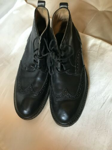 Florsheim Leather Lug Sole Boots Size 8.5D