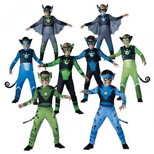 Image is loading Wild-Kratts-Creature-Power-Suit-Costume-Kids-Halloween-  sc 1 st  eBay & Wild Kratts Creature Power Suit Costume Kids Halloween Fancy Dress ...