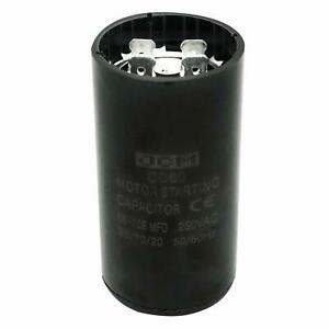 53-64 uF MFD 250V VAC Motor Start Capacitor Round 35x70mm CD60 AC Starting