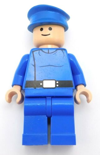 LEGO BLUE REPUBLIC PILOT MINIFIGURE FIGURE BLUE LEGS