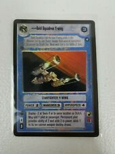Gold Squadron Y-wing Near Mint//Mint OTSD OFFICIAL PROMO star wars ccg swccg