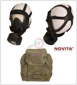 Maschera-Antigas-Usata-da-Collezione-Polizia-Protettiva-MP5-Filtro-Gas-Mask