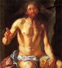 Hendrick Goltzius - Christ The Redeemer 1613   - 24'  CANVAS