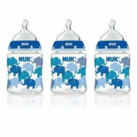 Nuk Fashion Orthodontic Bottle, Boy, 5 Ounce, 3 Count , New, Free Shipping