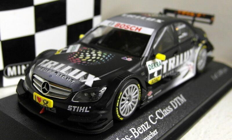 Minichamps 1 43 Scale 400 093904 Mercedes Benz C-Class DTM 2009 Ralf Schumacher