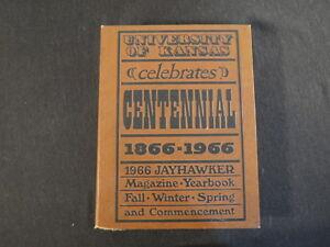 University-of-Kansas-1966-Jayhawker-Yearbook-Celebrates-Centennial