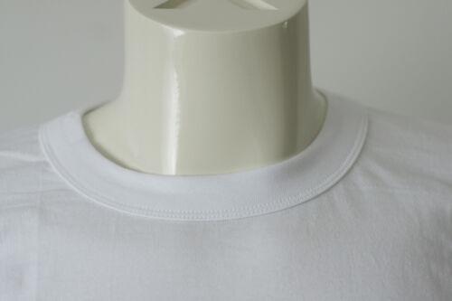 T-Shirt Hommes American Maillot Corps Shirt blanc coton col rond manches courtes shirt NOUVEAU