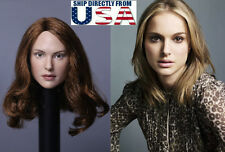 1/6 Natalie Portman Head Sculpt For Phicen Hot Toys IN STOCK - U.S.A. SELLER