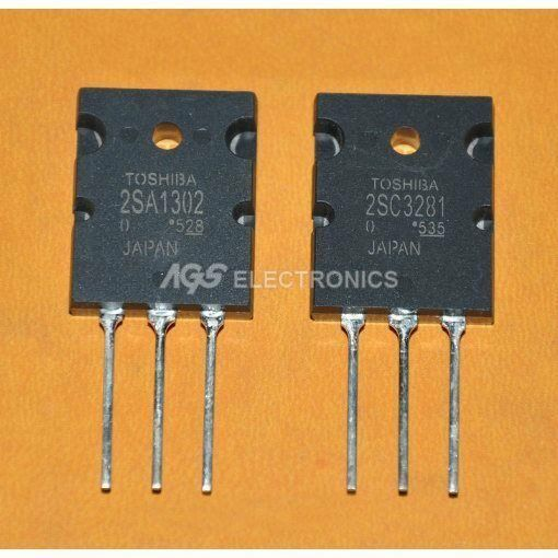 2SA1302-2SC3281 - 2SA 1302-2SC 3281  A1302-C3281 coppia Pair kit Transistor