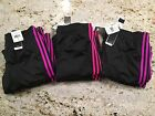 Womens Adidas W3 Stripe Pants NWT Assorted Colors XS S M L XL