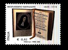 ITALIA REP. - 2003 - Bernardino Ramazzini 0,41€ de morbis artificum - Nuovo