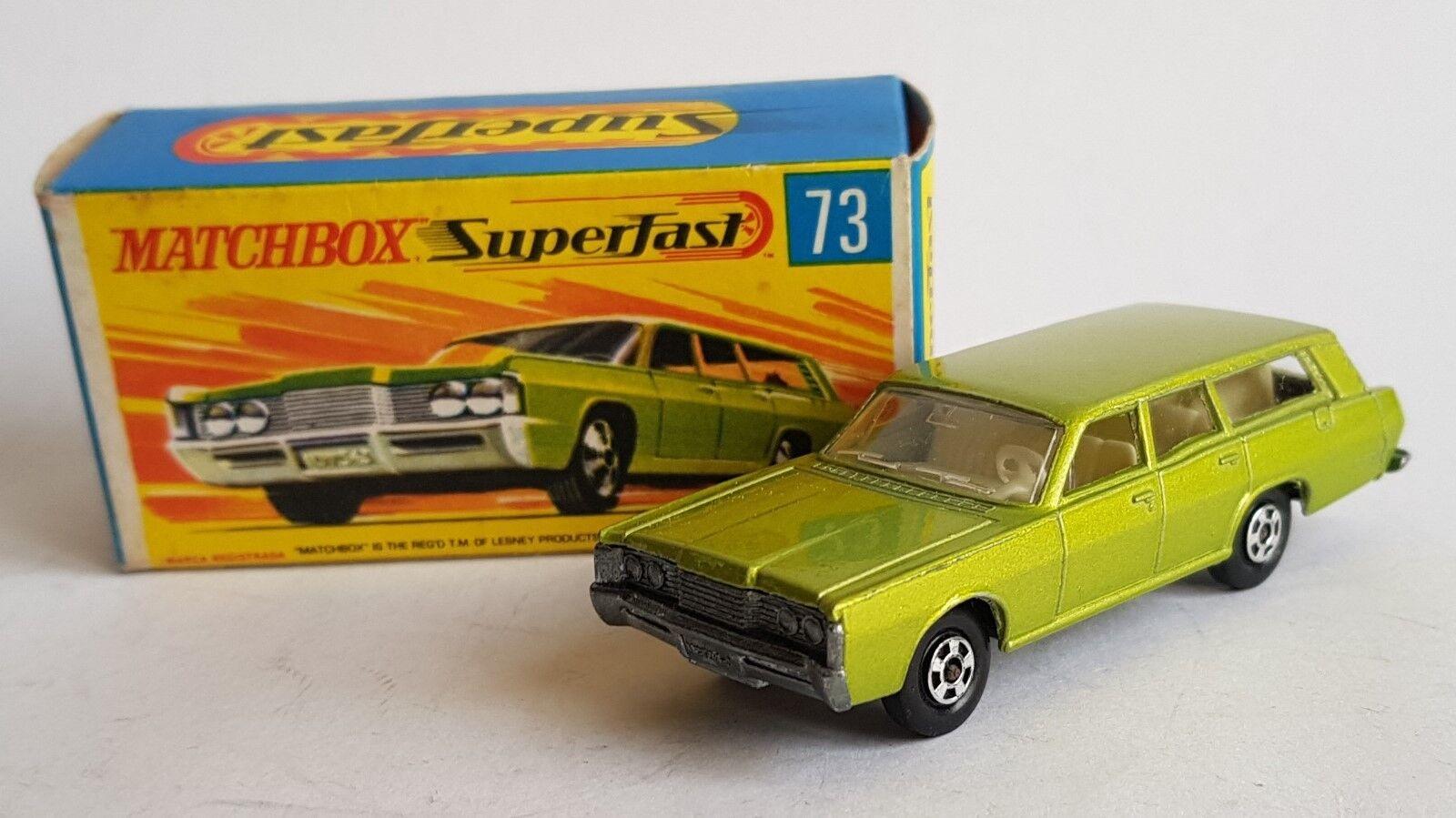 Matchbox  Superfast No. 73, Mercury Commuter, - Superb Mint.  meilleure mode