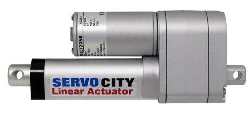 "2/"" Stroke 25 lb Thrust Heavy Duty Linear Actuator- HDA2-2 25 lb Thrust"