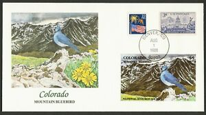 Nat 'L Audubon Society-Colorado-Mnt Azulejo, Fleetwood Cualquier 5=