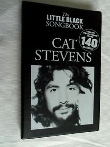 PARTITION-THE-LITTLE-BLACK-SONGBOOK-CAT-STEVENS