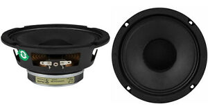 new 2 eminence 6 5 4 ohm guitar practice amplifier replacement speakers pair ebay. Black Bedroom Furniture Sets. Home Design Ideas