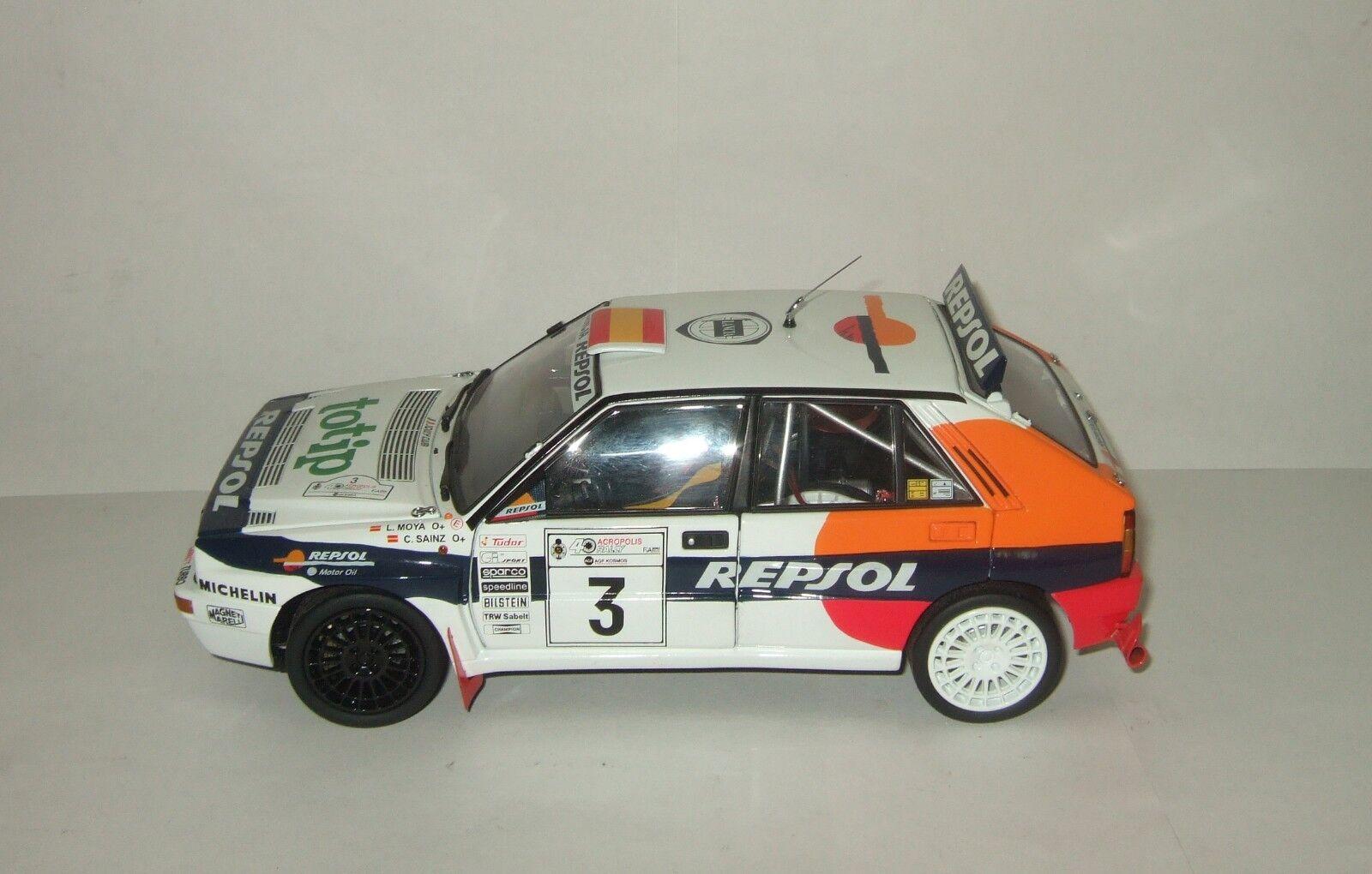 1  18 kyosho lance Delta HF Evo 2. Rally Rally Rally Acropolis c. Sainz & L. Moya 1993 cf5