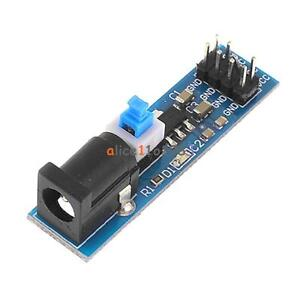 10PCS-Input-6-5-12V-AMS1117-5-0V-Power-Supply-Module-Voltage-Regulator-5-0V