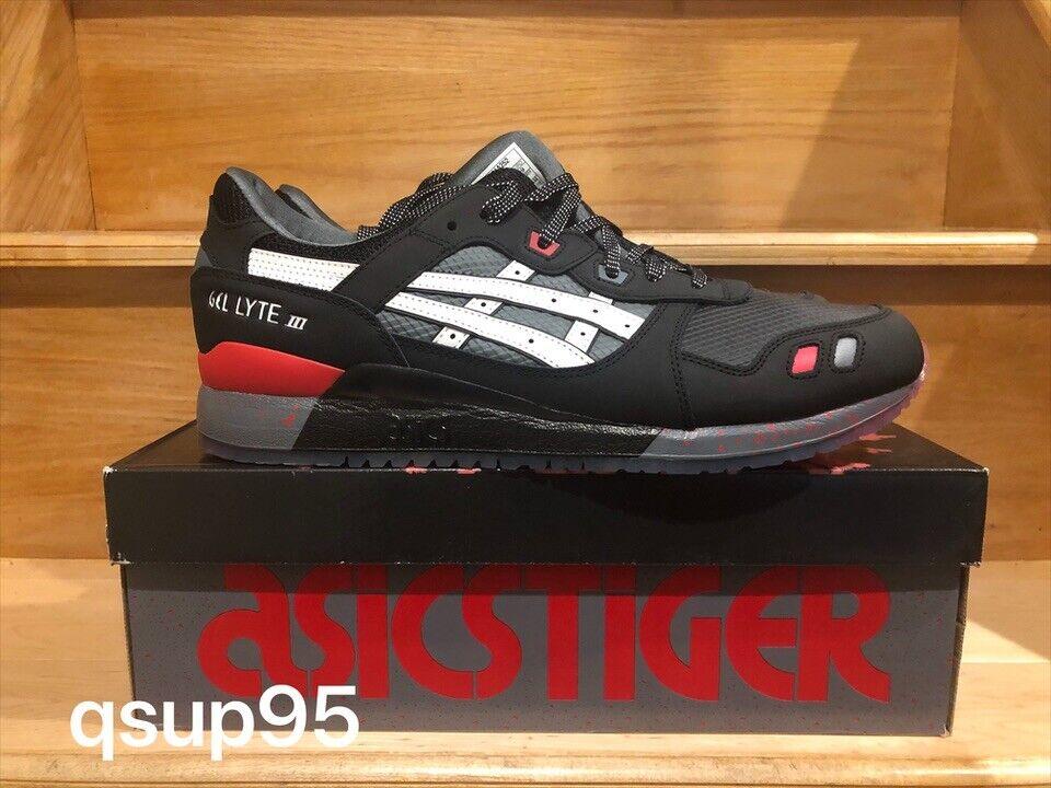 Asics Gel-lyte III 3 Gi Joe Snake Eyes Black Black Black Red Grey Size 8-14 New 62fddf