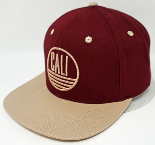 CALI Snapback Cap Hat California Republic 100/% Cotton OSFM New