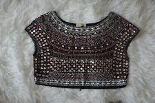 5abaebffdd8 item 6 ZARA Beaded Embroidered Embellished Bolero Crop Top Shirt Blouse  SMALL/MEDIUM -ZARA Beaded Embroidered Embellished Bolero Crop Top Shirt  Blouse ...