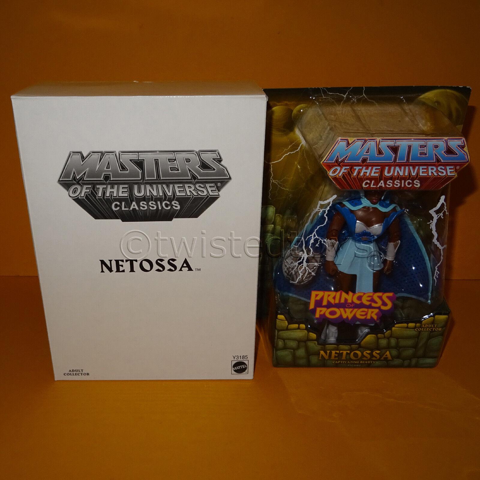 2012 MATTEL Amos del universo He-Man Masters Of The Universe Classics Netossa (She-ra) MOC