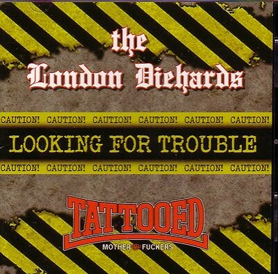 LONDON DIEHARDS / TMF – LOOKING FOR TROUBLE Vol. 1 LP  black wax