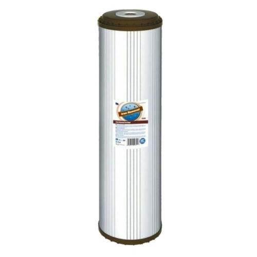 "Aquafilter FCCFE Jumbo 20/"" Iron Removal Filter"