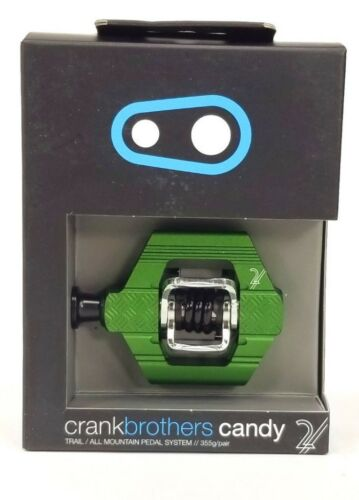 Crank Brothers Candy 2 Pedals Green