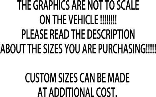Decals Vinyl Van ct026 2x Tribal- Large Body Panel Sticker Car