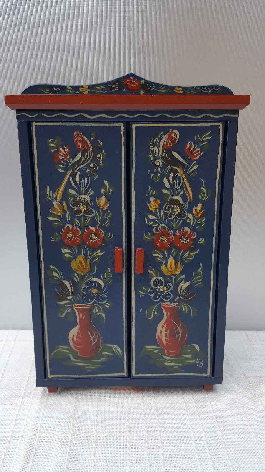 Puppenstube Puppenstube Puppenstube Puppenhaus Puppenmöbel Küchenmöbel Bauernmöbel Bauernmalerei Handbe 52e418