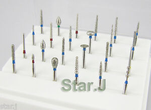 Dental-Diamond-Burs-For-Porcelain-Shouldered-Abutment-Polishing-24PCS-FG-1-6mm