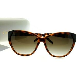 796ab4cf83a Chloe CE600S-219-60 Cat Eye Women s Tortoise Frame Brown Lens ...