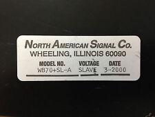 North American Signal Co. Strobe Light WB70+SL-A