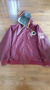 Washington Nfl Jacket Size Reversible Redskins Mens Xxl Tqgfd44