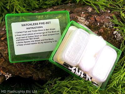 Forte Bcb Matchless Firelighting Kit Di Sopravvivenza Bushcraft Sopravvivenza Campeggio Hiking Edc- Alta Sicurezza