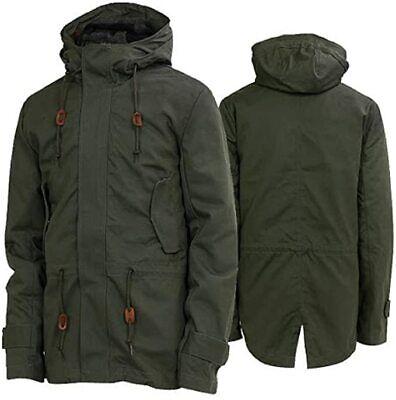 Adidas Originals Long down Parka Parker Jacket Men BNWT Khaki New