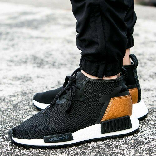 Adidas Originals NMD XR 1 PK Primeknit Runner Boost (black / black