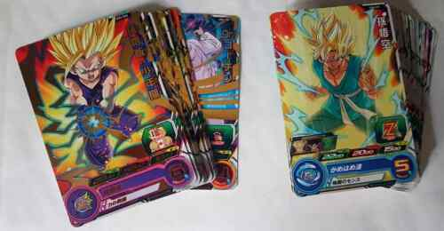 Carte DBZ Super Dragon Ball Heroes Universe Mission Part 4 UM4 #Rare//Regular Set