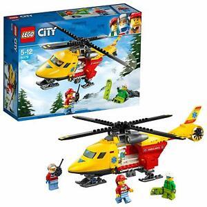 LEGO-City-60179-Rettungshubschrauber-Ambulance-Helicopter-Unterhaltungspielzeug