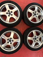 4x225/45R17 94V Winterräder Borbet CB80735 8x17 5x112 ET35 Audi, VW etc. (KR123)