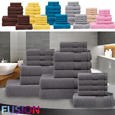 Luxury Towel Bale Set 100% Egyptian Cotton Face Hand Bath Bathroom Towels