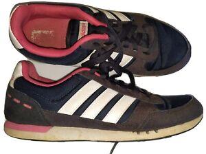 Women's Size 8 Adidas Neo Ortholite Pink Blue Shoes | eBay