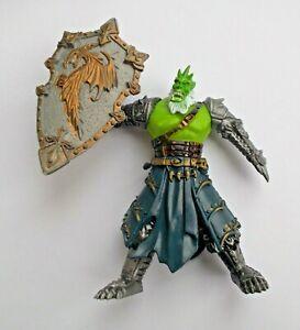 "Fantasy Dwarf Spearman Warrior Plastic Action Figure 8 cm 3,1/"" Toy Soldier NEW"