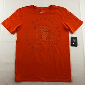 NFL Mens Short Sleeve Graphic Print Denver Broncos T-Shirt S-XXXL