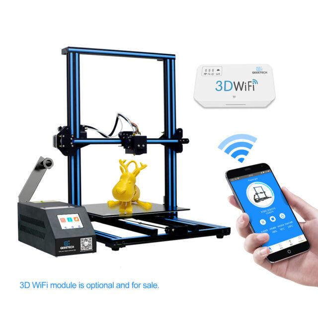 Factory Direct Geeetech Large 3D Printer A30 Touch Screen Break-resuming