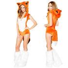 Fox Kigurumi Carnival Party Sexy Cosplay Animal Costume Halloween Fancy Dress