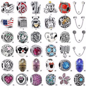 Christmas-European-S925-silver-charms-pendant-bead-For-bangle-bracelet-chain