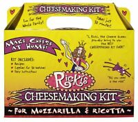 Mozzarella And Ricotta Cheese Making Kit , New, Free Shipping
