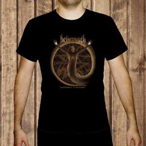 BEHEMOTH-Pandemonic-Incantations-MEN-BLACK-t-shirt-BAND-MUSIC-clothing-shirt